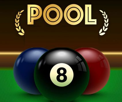 5. 2 Pool tables in front bar